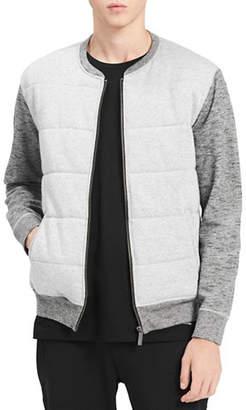 Calvin Klein Jeans Heathered Cotton Bomber Jacket