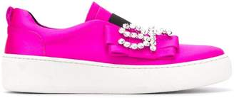 Sergio Rossi SR Icona embellished sneakers