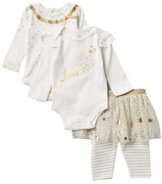 Baby Starters Stars Bodysuits & Tutu Leggings Set (Baby Girls)