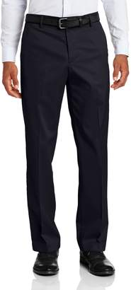 Dockers Men's Iron Free Khaki D2 Straight Fit Flat Front Pant, Navy, 36x34