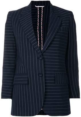 Thom Browne Fun Mix Chalkstripe Sport Coat