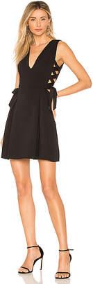 BCBGMAXAZRIA Kalie A Line Dress With Sid