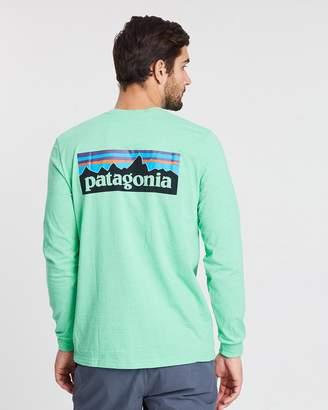 Patagonia Men's L/S P-6 Logo Responsibili-Tee