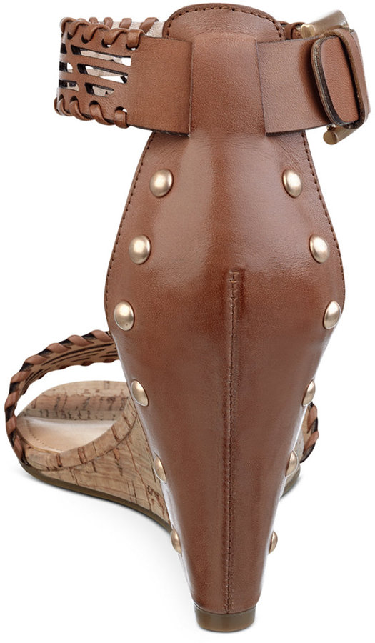 Marc Fisher Caelin Wedge Sandals