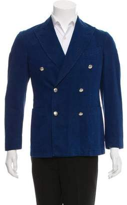 Boglioli Double-Breasted Peak-Lapel Sport Coat