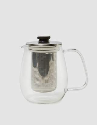 Kinto Unitea Teapot Set - Large in Stainless Steel