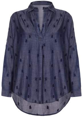 Nooki Design Lolita Blouse - Denim