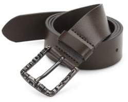 Diesel Five-Notch Leather Belt