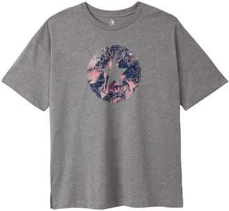 7666bdee253b Converse Feather Short-Sleeved Crew Neck Logo T-Shirt