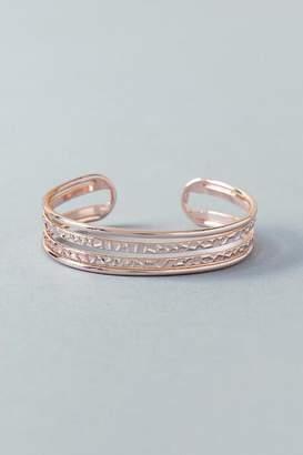 francesca's Blythe Cuff Bracelet - Rose/Gold