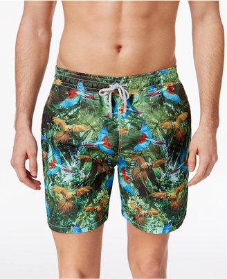 "Velero Men's Parrot Swim Trunks, 5"" $80 thestylecure.com"