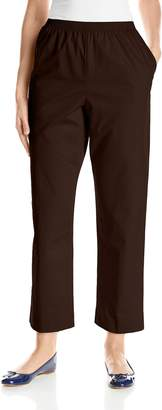 Alfred Dunner Women's Proportioned Short Twill Pant