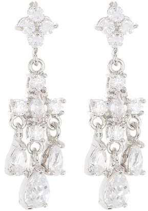 Carolee Crystal Cluster Mini Chandelier Earrings