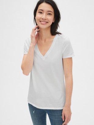 Gap Vintage Wash V-Neck T-Shirt