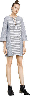 BCBGMAXAZRIA Lani Embroidered Dress