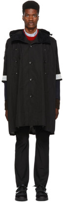 Junya Watanabe Black The North Face Edition Poncho Coat