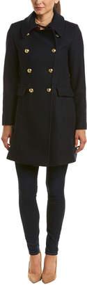 Trina Turk Caitlin Wool-Blend Coat