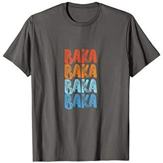Baka Retro Vintage T-Shirt