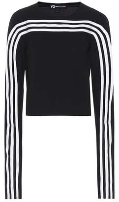 Y-3 Striped long-sleeved shirt