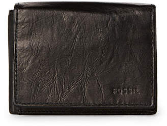 Fossil Black Ingram Execufold RFID Leather Wallet