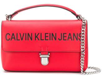 Calvin Klein Jeans sculpted flap shoulder bag