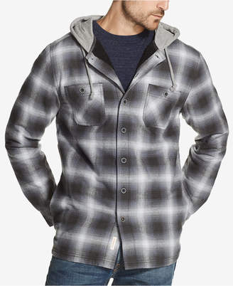 Weatherproof Vintage Men Hooded Shirt Jacket
