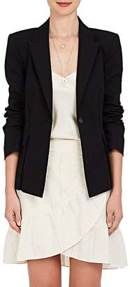 Derek Lam 10 Crosby Women's Grommet-Laced Stretch-Cotton Single-Button Blazer