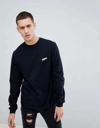 10.Deep Long Sleeve T-Shirt With Back Patch
