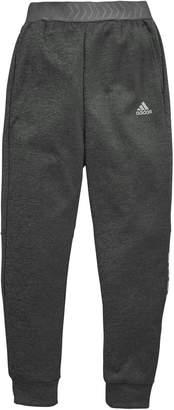 adidas Youth Nemeziz Cuff Pants - Black/Grey