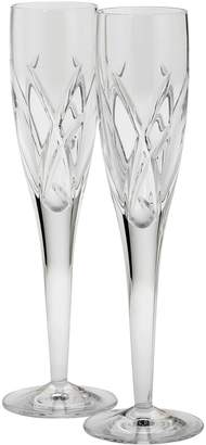 Waterford John Rocha Signature Champagne Flutes (Set of 2)