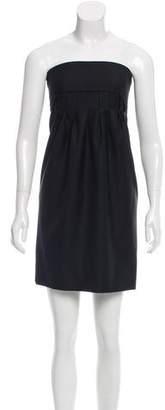 Stella McCartney Strapless Wool Dress