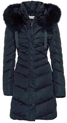 T Tahari Jolene' Real Fur Down Jacket