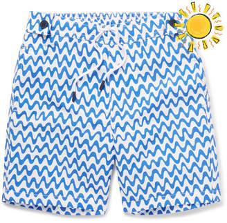 Frescobol Carioca - Boys Ages 2 - 8 Copacabana Printed Swim Shorts