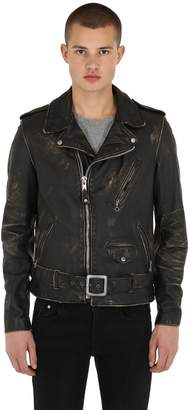Schott Perfecto Vintage Leather Biker Jacket