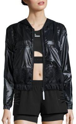 adidas by Stella McCartney Run Climastorm Floral Jacket $215 thestylecure.com