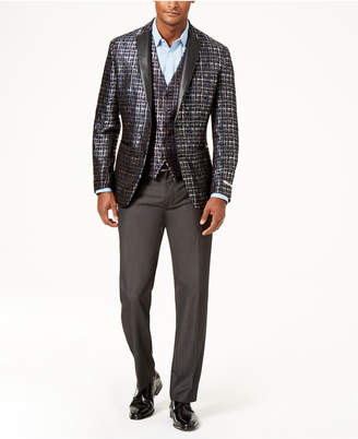 INC International Concepts I.n.c. Men's Slim-Fit Party Jacquard Blazer, Created for Macy's