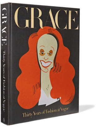 Grace: Thirty Years Of Fashion At Vogue Hardcover Book - Black