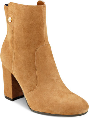 Tommy Hilfiger Natalai Ankle Booties $139 thestylecure.com
