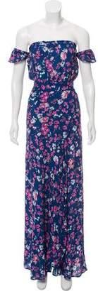 Flynn Skye Floral Off-The-Shoulder Dress