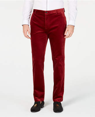 INC International Concepts I.n.c. Mens Velvet Slim-Fit Pants