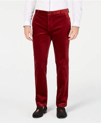 INC International Concepts I.n.c. Mens Velvet Slim-Fit Pants
