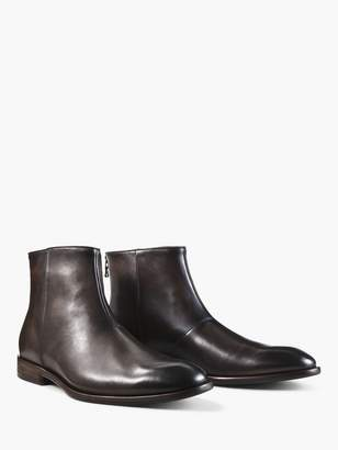 John Varvatos Nyc Back Zip Boot