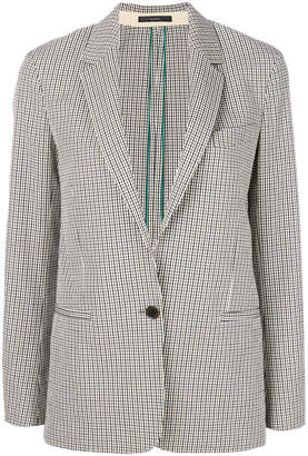 Paul Smith plaid tailored jacket