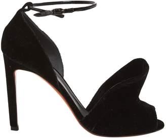 Santoni Velvet sandals