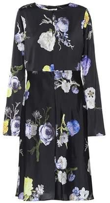 Acne Studios Dahari printed satin dress