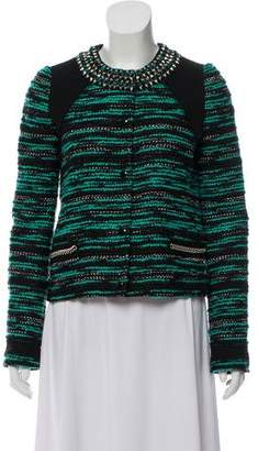 Proenza Schouler Embellished Tweed Jacket