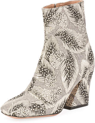 Dries Van Noten Brocade Cap-Toe 80mm Bootie