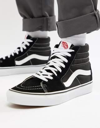 Vans Sk8-Hi sneakers in black vd5ib8c