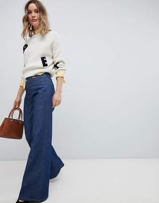 Vivienne Westwood Wide Leg Jean in Rigid Denim