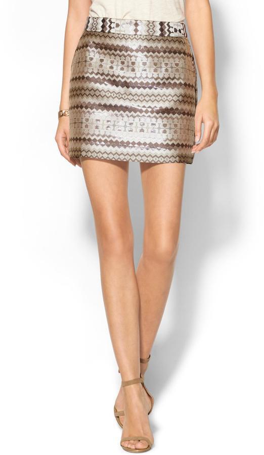 Pim + Larkin Madeline Mini Skirt